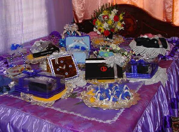 Malay Wedding Gifts: Dowry(hantaran)or Present For Wedding