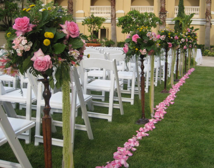 Outdoor Wedding Flower Decorations Theme Of Styles Happy After And Ever